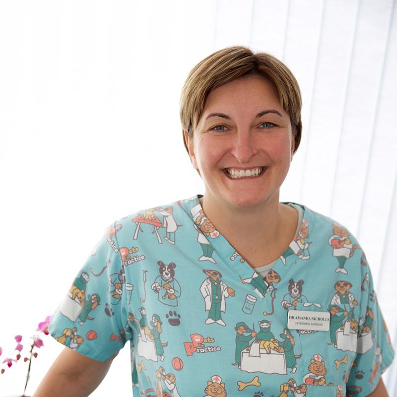 Dr Amanda Nicholls BVetMed MRCVS