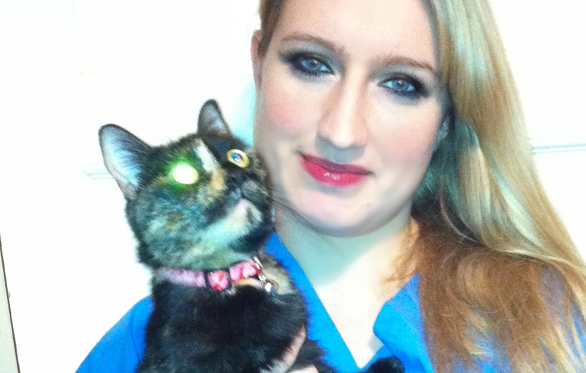 Welcome Susan…Laura's new cat