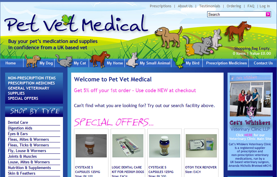 PET VET MEDICAL now open!