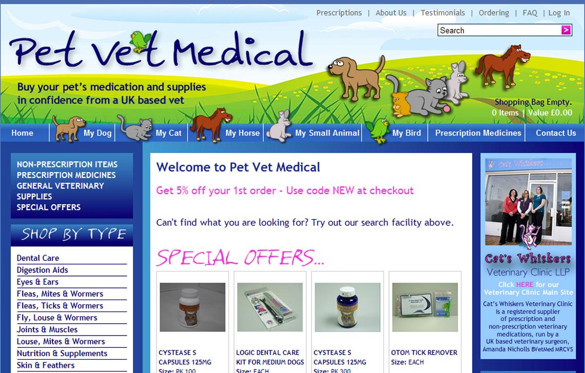 PET VET MEDICAL now open!