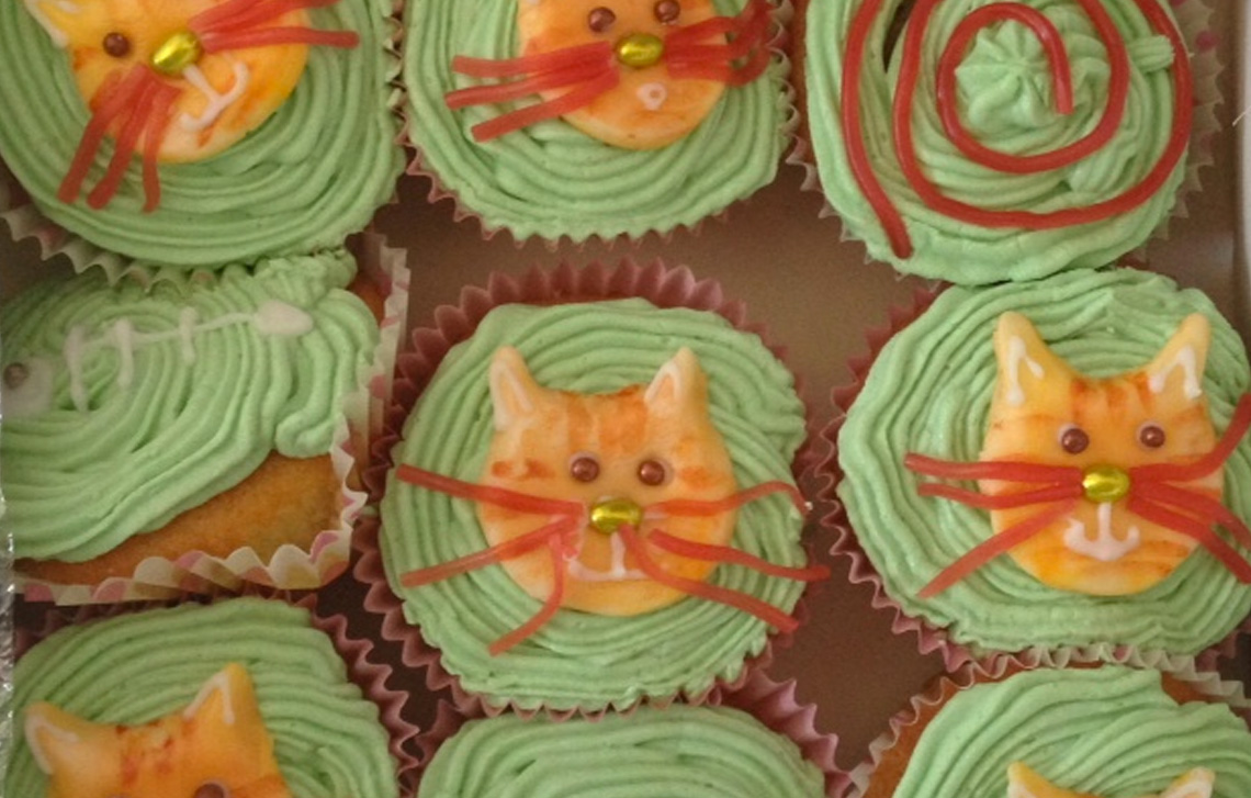 Laura's amazing cup cakes
