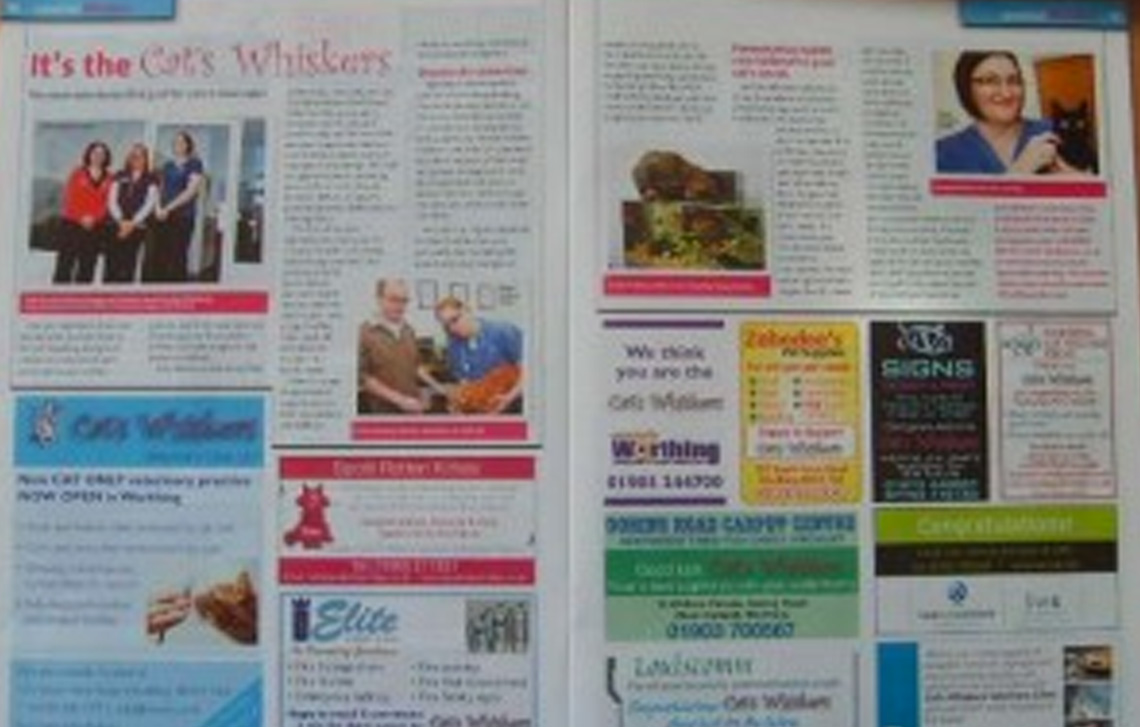 Our Essentially Worthing magazine Feature – April 2010
